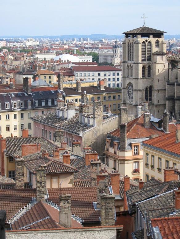 Vieux Lyon Roofs